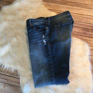 torrid Jeans - Torrid Distressed Bootcut; 16S